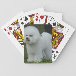 Adorable Bichon Poker Deck