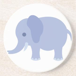 Adorable Blue Baby Elephant Coaster