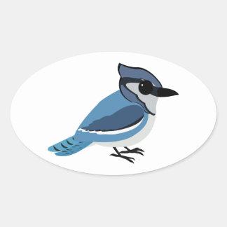 Adorable Blue Jay Sticker