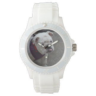 Adorable Bulldog Watch