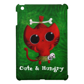 Adorable Cannibal Halloween Cat Cover For The iPad Mini