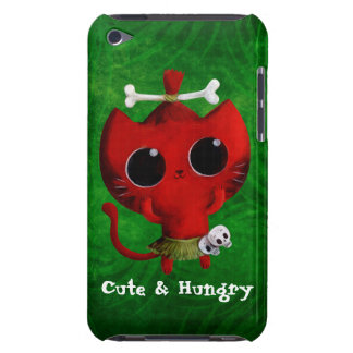 Adorable Cannibal Halloween Cat iPod Touch Cases