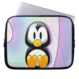 Adorable Cartoon Penguin Laptop Sleeve