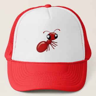 Adorable Cartoon Red Ant Unisex Caps