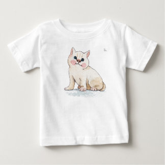 Adorable cat cub T-shirt. Baby T-Shirt