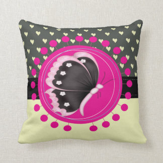 Adorable Charming Butterfly Cushion