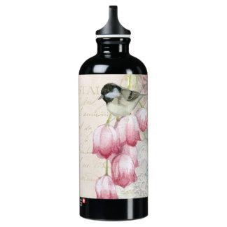 Adorable Chickadee with pink bleeding heart SIGG Traveller 0.6L Water Bottle