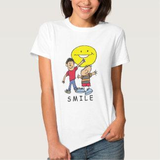 Adorable Children's Art Design Smile T-shirt