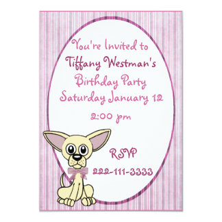 Adorable Childrens Birthday Invitation