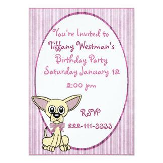 Adorable Childrens Birthday Invitation