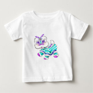 Adorable Chinese New Year Dragon 2012 Teal Blue Shirts