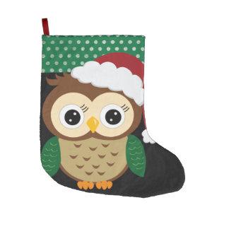 Adorable Christmas Owl