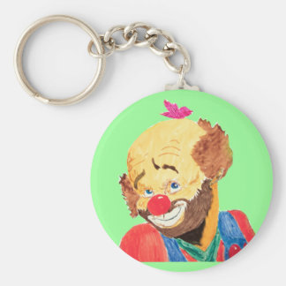 Adorable Clown Keychain