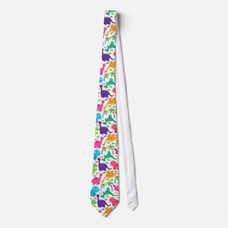 Adorable Colorful Dinosaur Tie