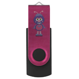 Adorable Colorful Monster Swivel USB 3.0 Flash Drive
