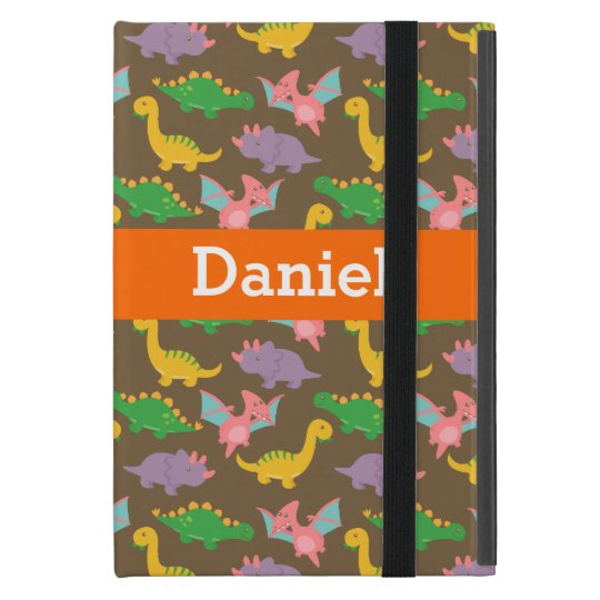 Adorable Colourful Dinosaur Pattern for Kids Case For
