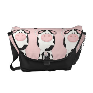 Adorable Country Cows Messenger Bag