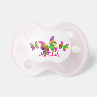 Adorable customisable pacifiers