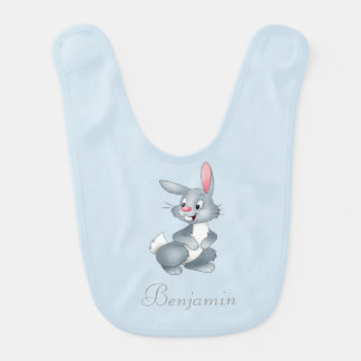 Adorable Cute Baby Bunny -Personalized Baby Bibs