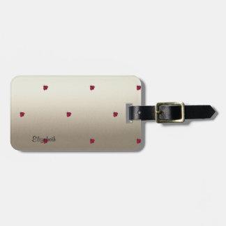 Adorable Cute ,Ladybugs,Luminous-Personalized Luggage Tag