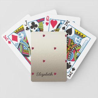 Adorable Cute ,Ladybugs,Luminous-Personalized Poker Deck