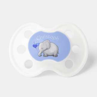 Adorable Cute Personalized Heart Balloons Elephant Dummy