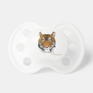 Adorable Cute,Tiger -Personalized Baby Pacifiers