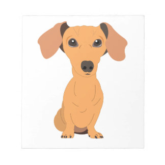 Adorable Dachshund Notepad