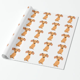 Adorable Dachshund Wrapping Paper