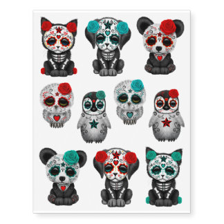 Adorable Day of the Dead Animals Collection