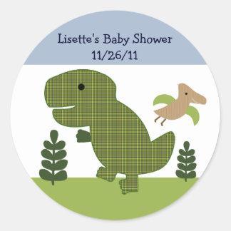 Adorable Dino/Dinosaur 2  Stickers/Envelope Seals