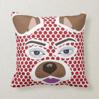 Adorable dog filter cushion