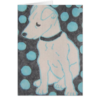 Adorable Doggie Note Card