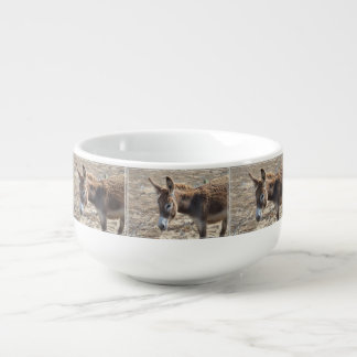 Adorable Donkey Soup Mug