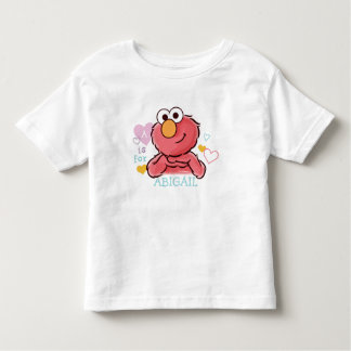 Adorable Elmo | Add Your Own Name Toddler T-Shirt