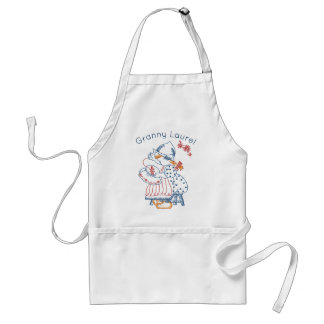 Adorable Embroidery Stitches Pattern Personalized Standard Apron