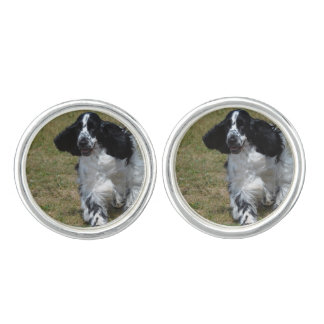 Adorable English Cocker Spaniel Cufflinks