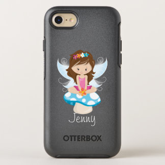 Adorable Fairy on Toadstool Personalized OtterBox Symmetry iPhone 8/7 Case