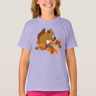Adorable Fall Squirrel Tees