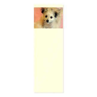Adorable Floppy Ear Rescue Puppy Business Card Template