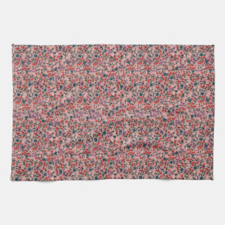 ADORABLE FLORAL PRINT KITCHEN TOWEL