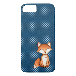Adorable Fox Water Color Phone Case