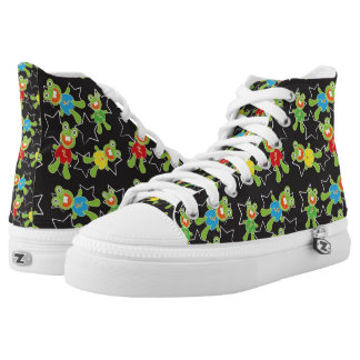 Adorable Frogs High Tops