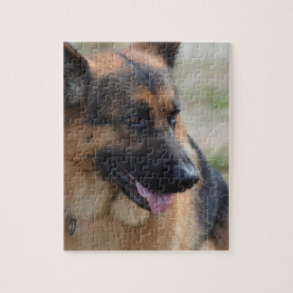 Adorable German Shepherd Jigsaw Puzzle