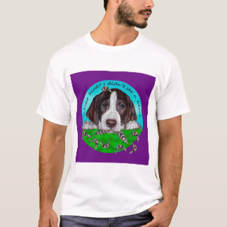 Adorable German Shorthair Pointer Puppy T-Shirt
