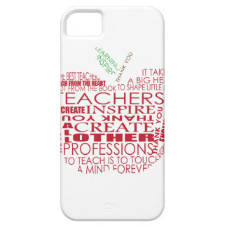 Adorable Gift for Teachers iPhone 5 Cover