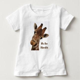 Adorable Giraffe Baby Bodysuit