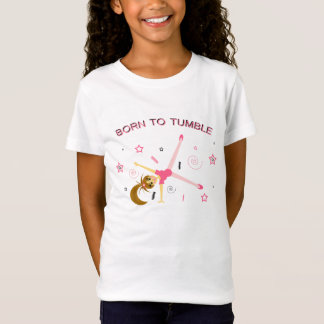 Adorable Girls Gymnastics T-Shirt