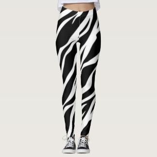 Adorable Girly,Zebra Texture Leggings
