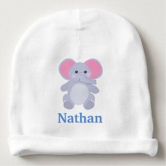 Adorable Grey baby Elephant for newborn baby Boy Baby Beanie